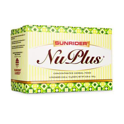 НуПлас  -  NU PLUS натуральный 60 пак. - фото 4648
