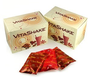 Вайта Шейк - VitaShake - 10 пакетиков клубника - копия - фото 4687