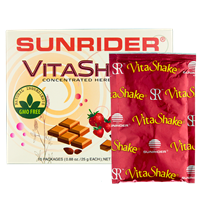 ВайтаШейк- VitaShake 10 пакетиков клубника